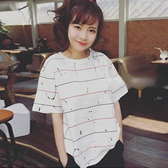 Champi - Stripe Short-Sleeve T-Shirt