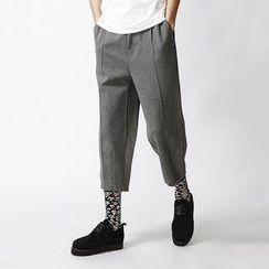 Bay Go Mall - Capri Wide Leg Pants
