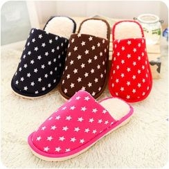 VANDO - Star-Print Slippers