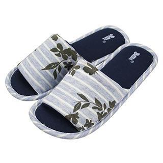Betta - Ladies Jersey Open Toe Slippers