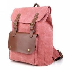 TBR - Buckled Canvas Backpack
