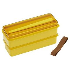 Skater - Earth Color Seal Lid Lunch Box (Yellow)