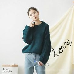 Polaris - Plain Thick Sweater
