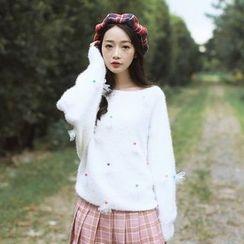 Ashlee - Flower Sweater