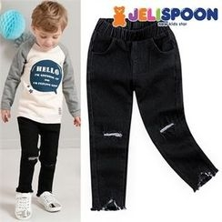 JELISPOON - Kids Distressed Tapered Jeans