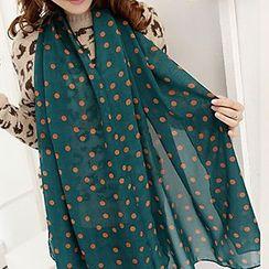 Rita Zita - 圆点雪纺围巾