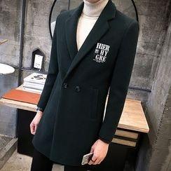 Bay Go Mall - Woolen Long Coat