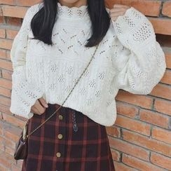 Moon City - Cable Knit Sweater