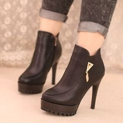 IYATO - High Heel Ankle Boots