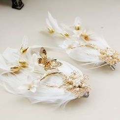 constello - Feather Hair Clip