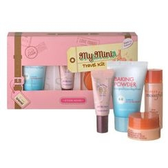 Etude House - My Mini Travel Kit (4 items): Foam 30ml + Essence 25ml + Cream 10ml + BB Cream 8g