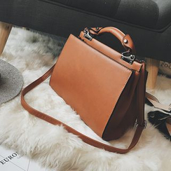 Devant - Faux Leather Shoulder Bag