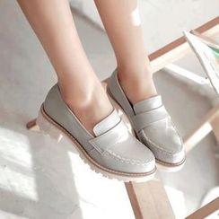 Parkwalker - 純色樂福鞋