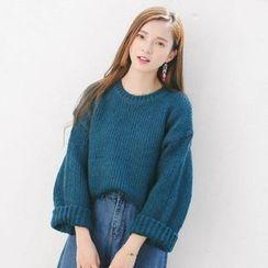 ZIZI - Plain Chunky Sweater