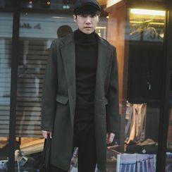 MEING - Tweed Button Coat