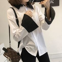 Little V - Color Block Blouse