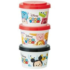 Skater - Tsum Tsum Food Container Set (240ml) (3 Pieces)
