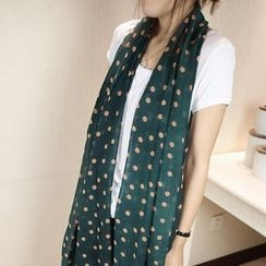 Cuteberry - Printed Chiffon Scarf