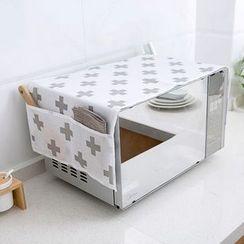 Home Simply - 印花微波爐防塵罩