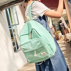 Bagolo - Applique Canvas Backpack