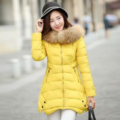 Cobogarden - Faux Fur Down Jacket