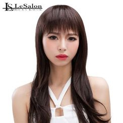 LeSalonWigs - Long Full Wig with Fringe