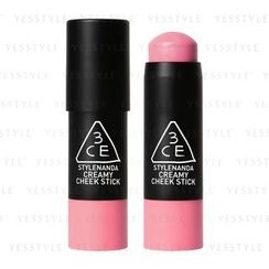 3 CONCEPT EYES - Creamy Cheek Stick (Pink Factory)