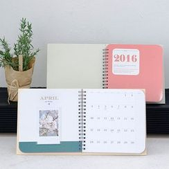 BABOSARANG - '2016 PHOTO CALENDAR' Desk Calendar (L)