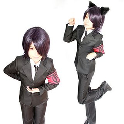 Ghost Cos Wigs - Gugure! Kokkuri-san Inugami Suit Cosplay Costume