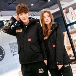 Lovebirds - Applique Padded Jacket