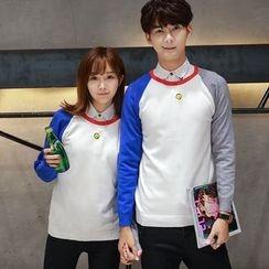 TOOI - Couple Matching Raglan Sleeve Sweater