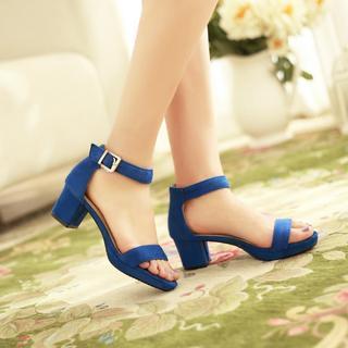 JY Shoes - Block Heel Sandals