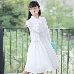 tete - 抽繩襯衫裙