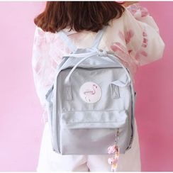 Bags 'n Sacks - Flamingo Applique Backpack
