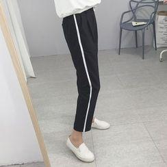 OCTALE - Contrast Trim Baggy Pants