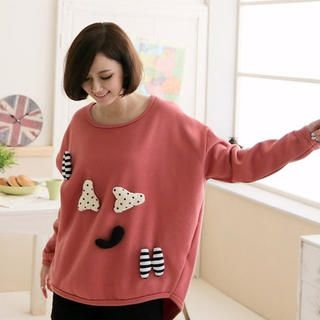 CatWorld - Appliqué Pullover