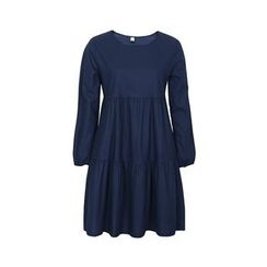 Flore - Long-Sleeve Shirred Dress