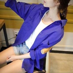 OTTI - Oversized Long-Sleeve Shirt