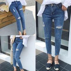RASA - Cropped Skinny Jeans