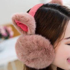 華娟 - 毛絨耳捂
