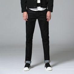 Denimic - Straight Leg Jeans