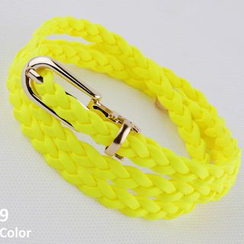 Goldenrod - Braid Slim Belt