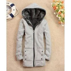 Dream Girl - Fleece Lined Hooded Jacket