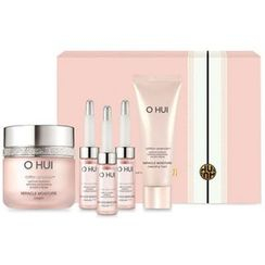 O HUI - Miracle Moisture Special Set : Cream 50ml + Cleansing Foam 40ml +  3pcs of Ampoule 7ml
