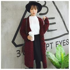 Sens Collection - Long Cable Knit Cardigan