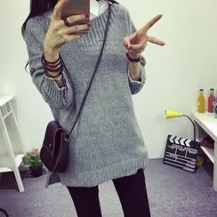 Dream Girl - Round Neck Knit Top