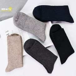 MITU - Plain Ribbed Socks