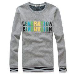 uninukoo - Lettering Sweatshirt
