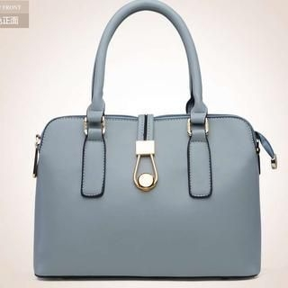 Heilin - Faux-Leather Satchel