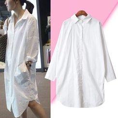 Isadora - Drop Shoulder Shirtdress